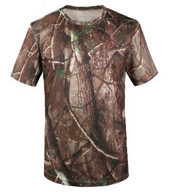 Hippolo Herren Tshirt Camouflage Army Style T-Shirt (XXXL, Stil 1) -