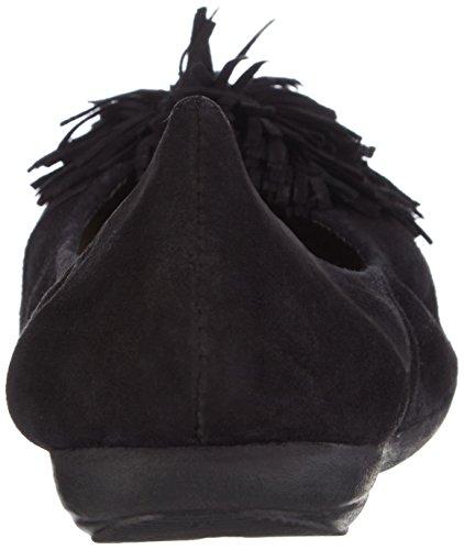 Marc Shoes - Janine, Ballerine Donna Nero (Schwarz (black 100))