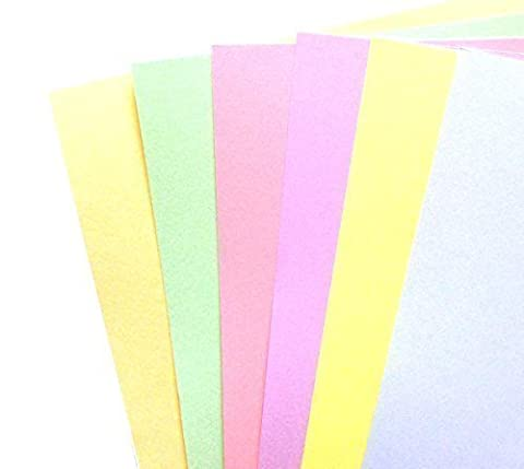 DALTON MANOR A4 PASTEL CARTE PAQUET 160 GM 60 FEUILLE paquet Couleurs assorties