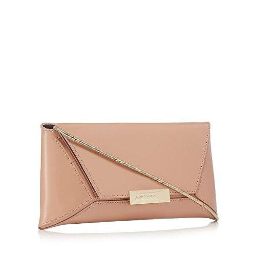 j-by-jasper-conran-light-pink-patent-clutch-bag