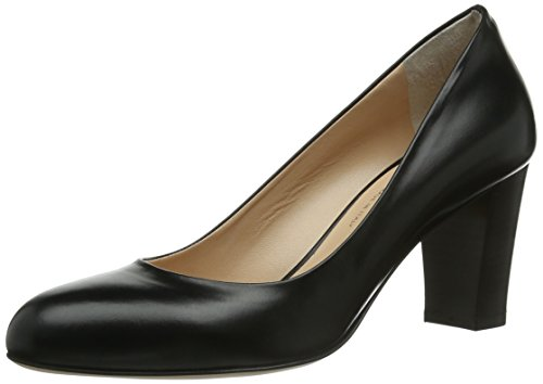 Evita Shoes Pumps geschlossen, Damen Pumps, Schwarz (Schwarz), 40 EU (6.5 Damen UK)