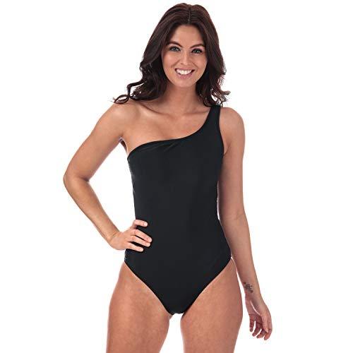 VERO MODA Damen Badeanzug Gr. 38, Schwarz - Badeanzug Mode
