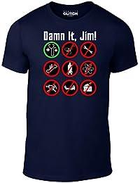 Reality Glitch Men's Damn It Jim T-Shirt