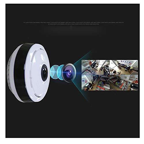 FV-G3601-1080PH360 Grad Panorama Überwachungskamera, KINGKO Panorama 360 Grad Objektiv Smart IPC Wireless Kamera Fisheye Kamera (Weiß) Professional Night Vision