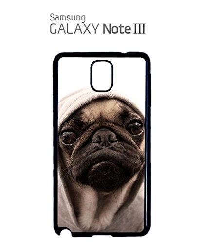 Pug Life Grumpy Dog Mobile Cell Phone Case Samsung Galaxy S5 Black Noir