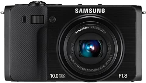 Samsung EX1 Digitalkamera (24 mm Ultraweitwinkel, 10 Megapixel, Lichtstarkes F1,8-Objektiv, Schwenkbares 7,62 cm AMOLED-Display) schwarz