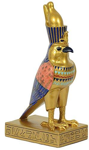 "Dekofigur, Ägyptische Gottheit ""Horus"" Dekoration Mythologie Falke Vogel"