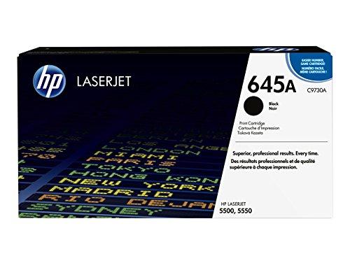 HP C9730A Original LaserJet Cartridge - HP 645A (C9730A) Black Original LaserJet Toner Cartridge