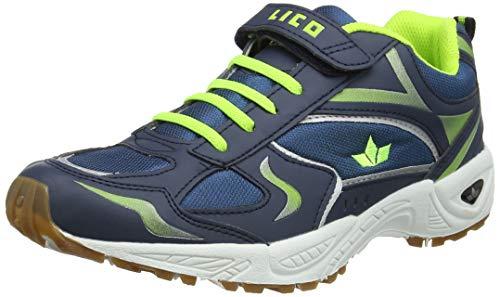 Indoor-marine (Lico Herren Bob VS Multisport Indoor Schuhe, Blau Lemon Marine, 38 EU)