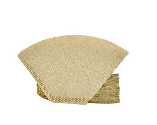 caolator Filtro de café/americano para cafetera eléctrica gota a gota de papel filtro desechable/épaissie/sin Blanqueamiento primarios/100pieza