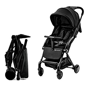 Kinderkraft Stroller PILOT Lightweight 5.8kg Compact Folded Pushchair Pram Buggy with Adjustable Footrest | Accessories Rain and Foot Cover from Birth to 3.5 Years (0-15kg)   14