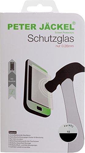 Image of Peter Jäckel 15892. Clear Screen Protector HTC 101pc (S) Screen Protector–Screen Protectors (Clear Screen Protector, Mobile Phone/Smartphone, HTC, HTC 10, Glass, transparent)