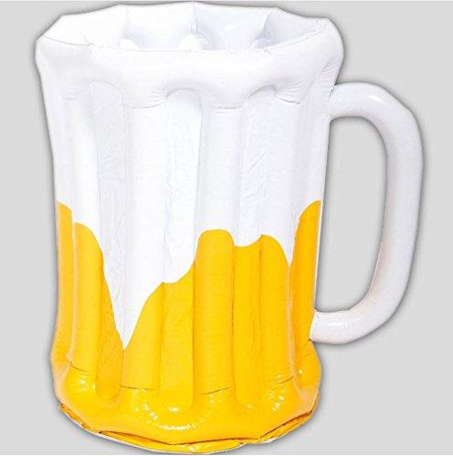 Folat 05420 Bierkrug aufblasbar mit Getränkekühler