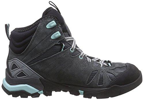 Merrell - Capra Mid Gore-Tex, Scarpine primi passi Donna Grigio (Granite)