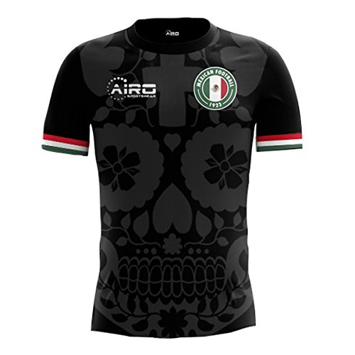 Airo Sportswear 2018-2019 Mexico 3rd Concept Football Soccer T-Shirt Trikot  (Kids bd988a230ef