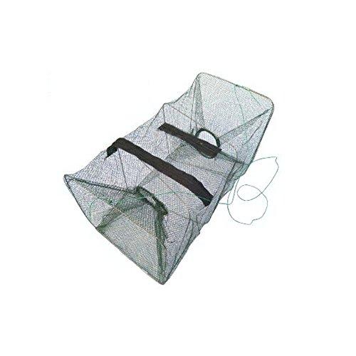 Preisvergleich Produktbild Faltbarer Fisch Hummer Krabbe Langusten Garnelen Fische fangen Netz Käfig Fischreuse