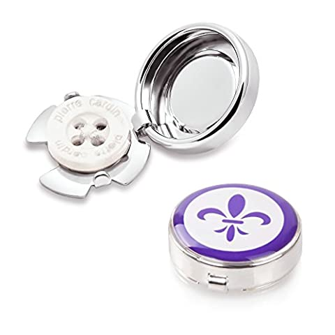 Fleur de Lis Button Covers - The Only Cufflinks for Shirts with Buttons