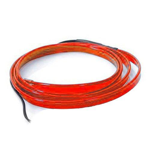 Preisvergleich Produktbild Neon Kabel - TOOGOO(R) 2M EL Neon Kabel Lichteffekt Leuchtschnur Leuchtschnur Draht Wire fuer Party KFZ Farbe:Rot