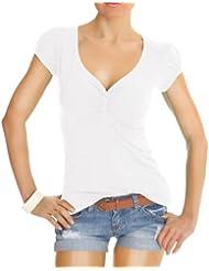 Bestyledberlin Damen Shirt, Blusen, T-Shirt t01p