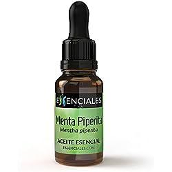 Menta piperita - Aceite esencial - 100% Puro - 10 ml