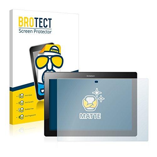 BROTECT Entspiegelungs-Schutzfolie kompatibel mit Lenovo Tab 2 A10-30 (2 Stück) - Anti-Reflex, Matt