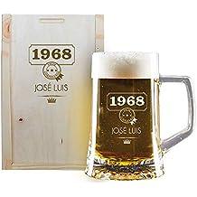 Jarra DE Cerveza EN Caja DE Madera (Jarra de Cerveza en Caja de Madera,