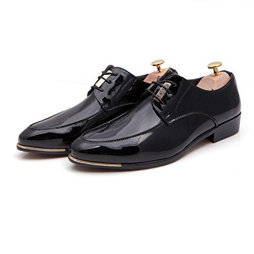 Selvaggi di estate moda scarpe/Tempo libero Joker puntato Calzatura uomo Nero