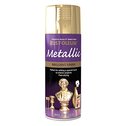 400ml Brilliant Metallic Gold Test