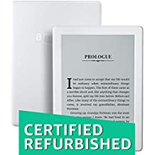 Certified Refurbished Kindle E-reader (8th Gen) - White, Wi-Fi (Tested by Amazon to look and work like new, backed with 1-year warranty)