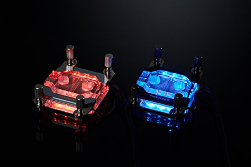 Phanteks Waterblock CPU pour LED RVB Base en cuivre nickelé Acrylique Coque Chrome - Ph-c350 a Cr01 10