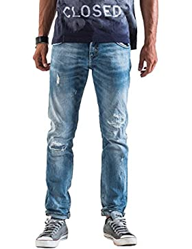 Meltin'Pot - Jeans MARLIT D2049-UP470 para hombre, estilo slim