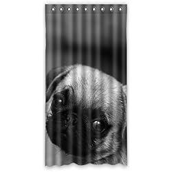 "dalliy Custom cute de CARLINO cortina de ventana poliéster 50""x96"" sobre 127cm x 244cm (una sola pieza), poliuretano, B, 50"" x 96"""