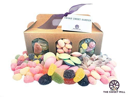 Vegan Sweet Hamper - The Perfect Gift for Vegans at Easter, Mothers Day - Vegan Sweets