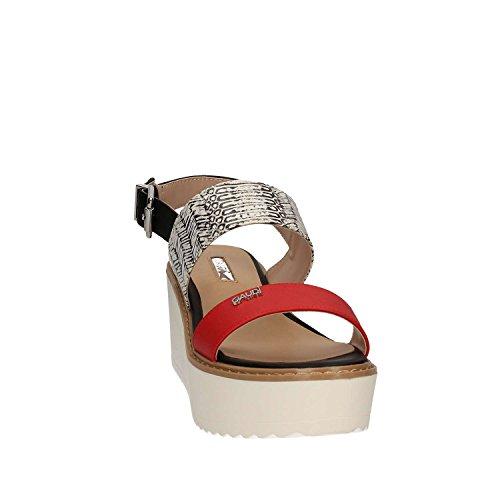 Gaudi V73-65351 Sandalo zeppa Donna Bianco