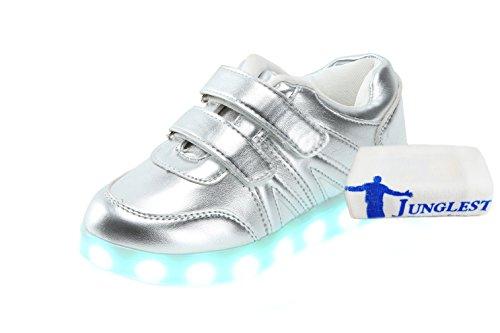 korean C2 Leucht Für Handtuch Blinken Männliche Und Schuhe Klettverschluss Lichter Weibliche Mode schuhe licht emittierende kleines Mit Led 5T4nRR0