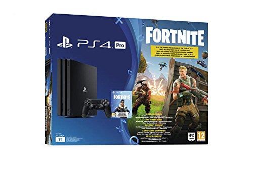PlayStation 4 Pro - Konsole (1TB) Fortnite Royal Bomber Pack Bundle inkl. 1 DualShock 4 Controller (Headset Wireless Innovationen)
