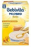 Bebivita Milchbrei Keks, 4er Pack (4 x 600 g)