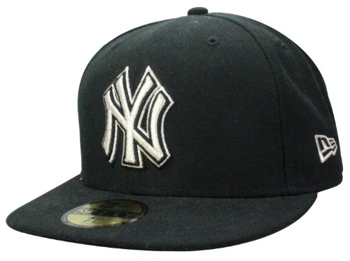 Casquette New Era New York Yankees Cap Metfold in black/silver | Taille: 7 3/8