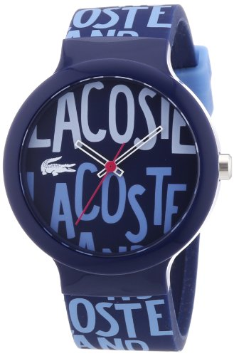 Lacoste Unisex Quartz Watch with Multicolour Dial Analogue Display and Multicolour Silicone Strap 2020054