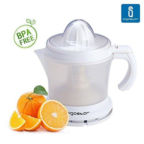 Aigostar-Morgen-30HIM-Exprimidor-de-zumo-Libre-de-BPA-Color-Blanco-Potencia-de-30-watios-Capacidad-de-1-litro