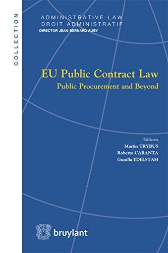 EU Public Contract Law: Public Procurement and Beyond