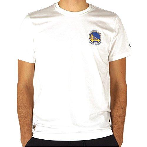 Camiseta New Era – NBA Golden State Warriors Tip Off Chest N Back Blanco Talla: XS (X-Small)