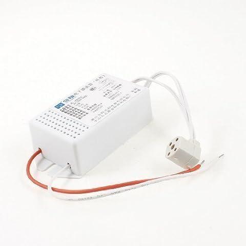 sourcingmap® Plastique Rectangle AC 220V 0.16A 32W Anneau Tuyau Fluorescent