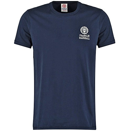 Franklin & Marshall -  T-shirt - Basic - Maniche corte  - Uomo Navy XX-Large