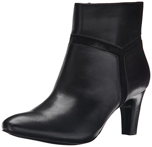 Lauren Ralph Lauren Sade Boot Black Burn Calf/Kid Suede