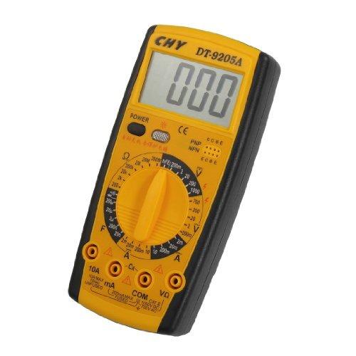 DealMux LCD-Anzeige AC DC Voltmeter Amperemeter Ohmmeter Digital-Multimeter DT-9205A