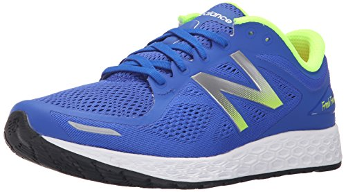 New Balance Men's Fresh Foam Zantev2 Running Shoe,Blue/Green,13 D US