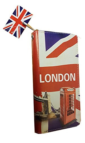 Great Souvenirs of London Ltd ,  Damen-Geldbörse blau Blau / Rot / Weiß London Geldbörse