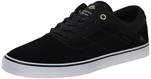Emerica The Herman G6 Vulc, Herren Skateboardschuhe Navy/White