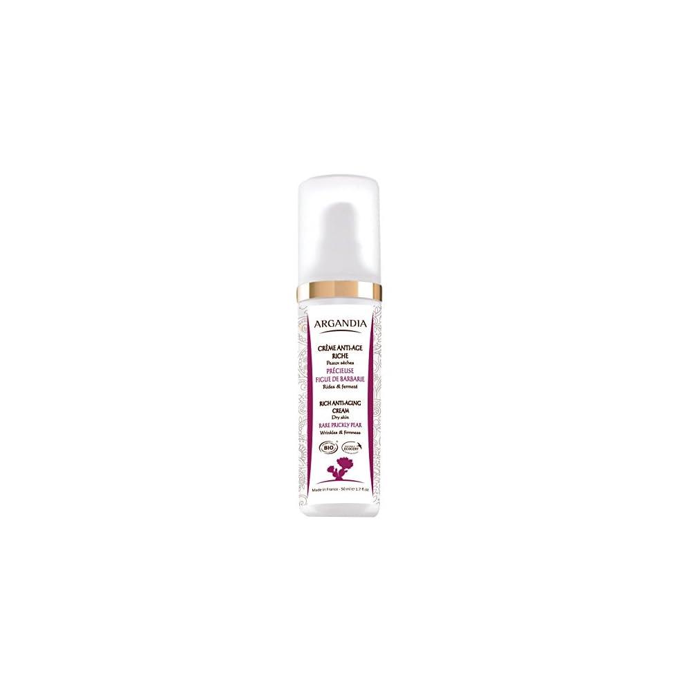 Argandia Opuntia Reichhaltige Anti Aging Creme 50 Ml Bio Zertifiziert Intensive Feuchtigkeit Harmonischer Teint Fr Trockene Sehr Trockene Irritierte Haut
